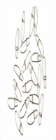 20 Stück Greys Prowla Klip-Lok Links Größe 2 30 kg